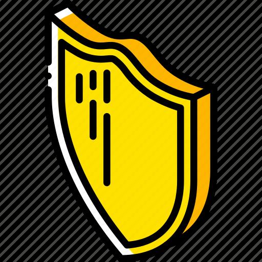 award, awards, iso, isometric, shield icon
