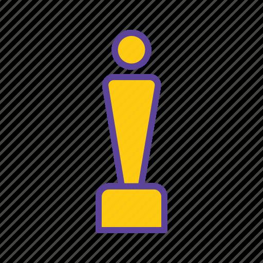 acheivement, award, gold medal, medal, winner, winning medal icon