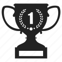 award, best, champion, prize, star, trophy, win, winner icon