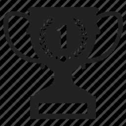 award, best, champion, prize, star, trophy, win, winner icon