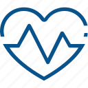 business, health, heart, pulse icon