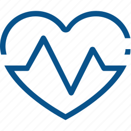 business, health, healthy, heart, hospital, medical, pulse icon