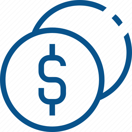 business, cash, coin, dollar, finance, money, tax icon