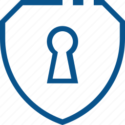 access, business, locked, protection, safety, security, shield icon