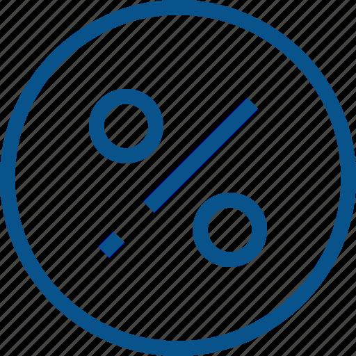 business, percent, sale, shop icon