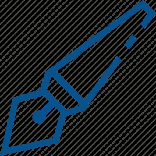 business, draw, graph, marketing, pen, signature icon