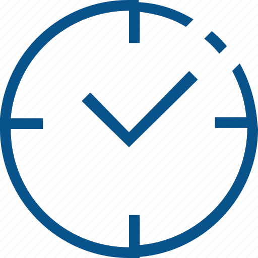 business, clock, marketing, time, tracking icon