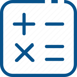 business, calculator, count, financial, marketing icon
