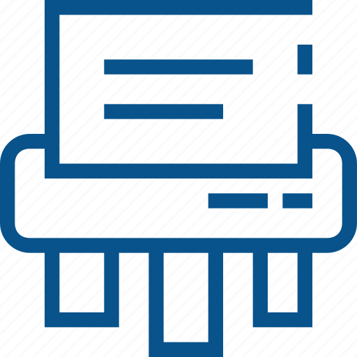 business, destroy, document icon