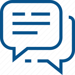 bubble, business, chat, dialog, message icon