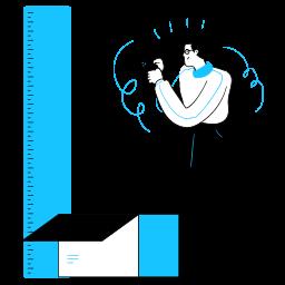 design, measurement, ruler, box, package, tools, measure, smartphone, phone