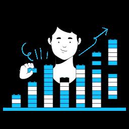 web, development, business, plug, in, build, increase, graph, chart, analytics, statistics