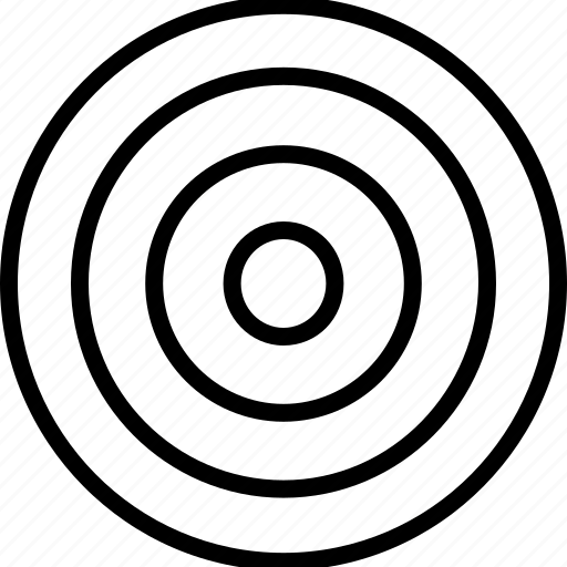 eye, finance, goal, target icon