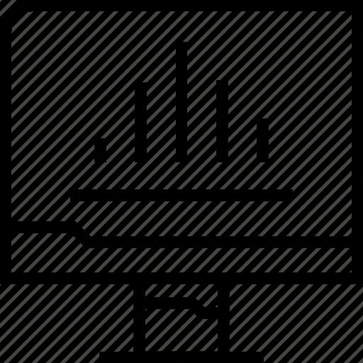 analytics, data, web, www icon