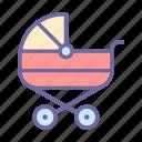 pram, child, carriage, baby
