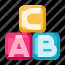 alphabet, chat, cube, letter, text, communication, talk