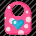 baby, bib, child, game, gaming, play, toy icon