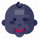 baby, emoji, emoticon, emotion, face, smiley, emotag