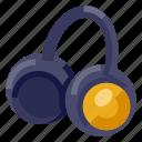 earbud, earphone, headphone, headset, multimedia, music, sound icon