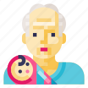 boy, grandfather, grandpa, human, man, old, avatar