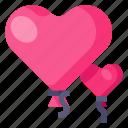 valentines, love, heart, romance, baloons, valentine, hearts