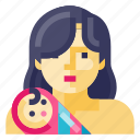 mother, avatar, face, female, people, person, woman