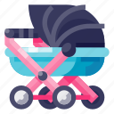 stroller, baby, kid, cute, pushchair, infant, buggy
