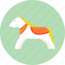 child, doll, horse, kid, rag doll, toy icon