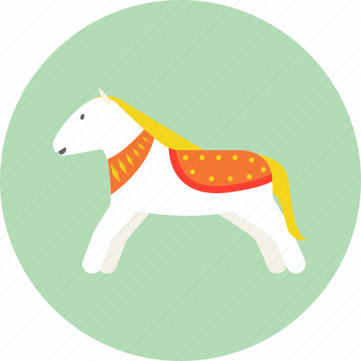 Child, doll, horse, kid, rag doll, toy icon - Download on Iconfinder