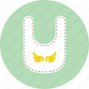 apron, bib, infant icon