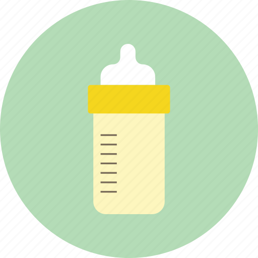baby bottle, child, drink, feeding bottle, kid, milk icon