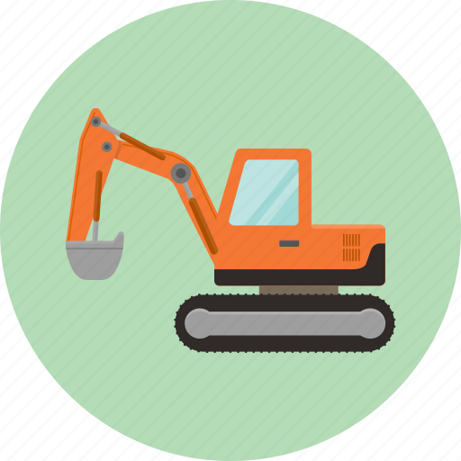 bulldozer, construction, excavator, heavy, machinery, toy, transportation icon