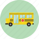 bus, car, school, school bus, toy, transportation icon