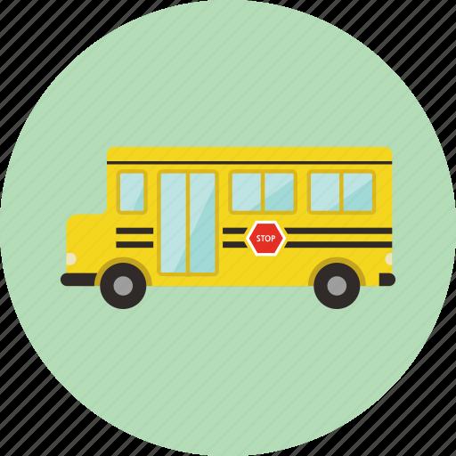 bus, car, school, school bus, toy, transportation icon