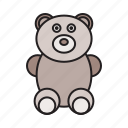 baby, bear, child, children, play, teddy bear, toy