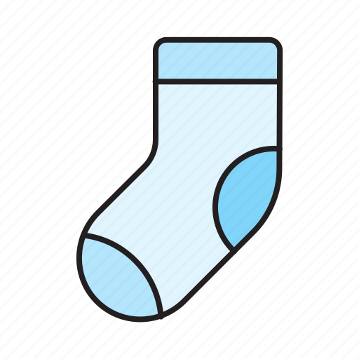 Baby, child, children, clothes, newborn, sock, socks icon - Download on Iconfinder