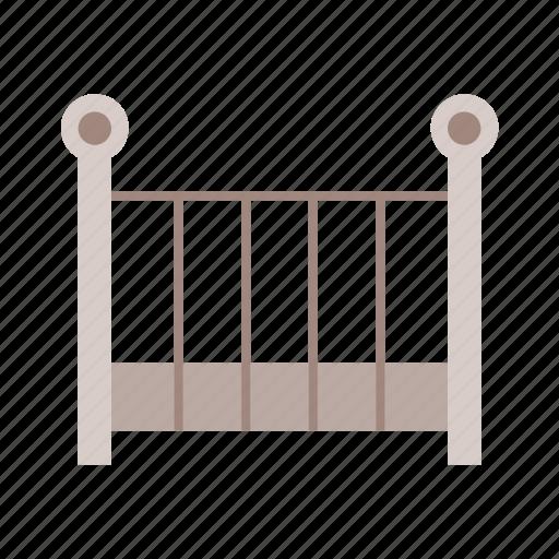 baby, child, cot, crib, lay, newborn, sleep icon