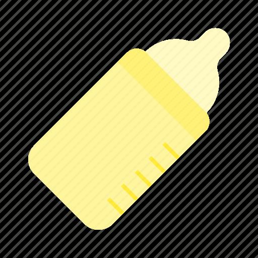 baby, baby formula, child, feed, feeding bottle, milk, nipple icon