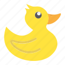 baby, child, duck, play, rubber, shower, toy icon
