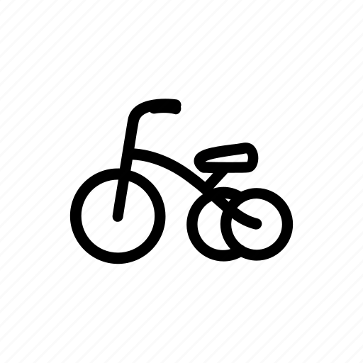 baby, bicycle, bike, child, cycling, kid, toy icon