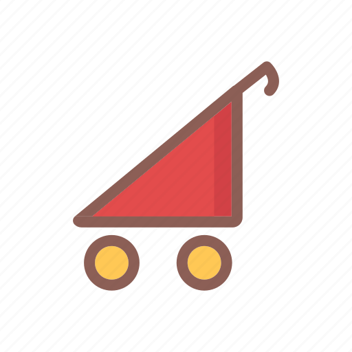 baby, child, game, kid, stroller, toy icon