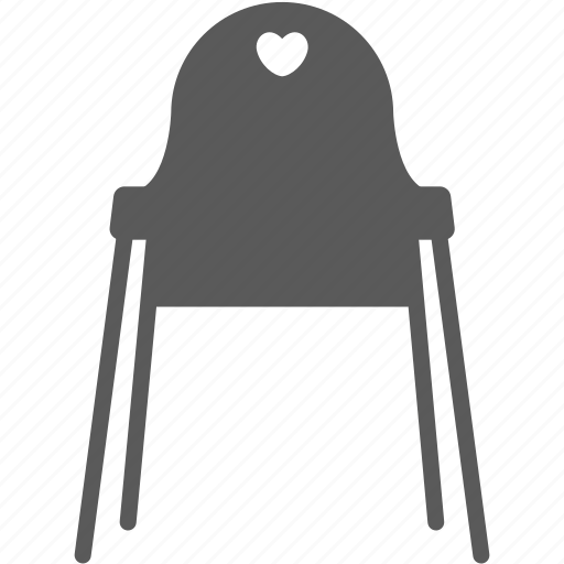 baby chair, chair, feeding, furniture icon