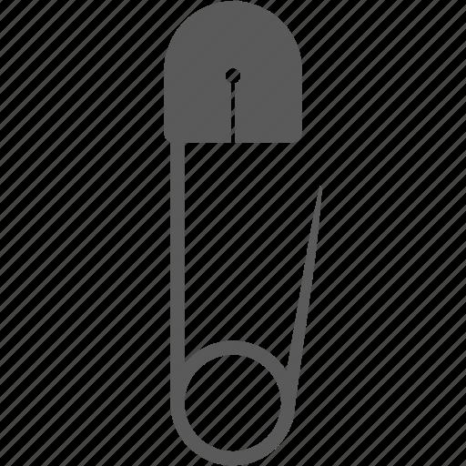 handmade, pin, safety pin icon