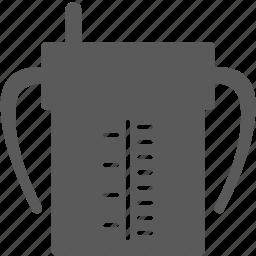 cup, infant, juice, milk icon