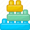 baby, bauble, child, plaything, toy, toy brick icon