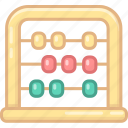abacus, baby, bauble, children, kid, plaything, toy icon