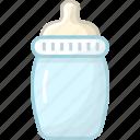 baby, baby bottle, bottle, child, children, kid, milk icon
