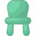 baby, chair, child, furniture icon