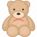 baby, bauble, child, children, plaything, teddy, toy icon