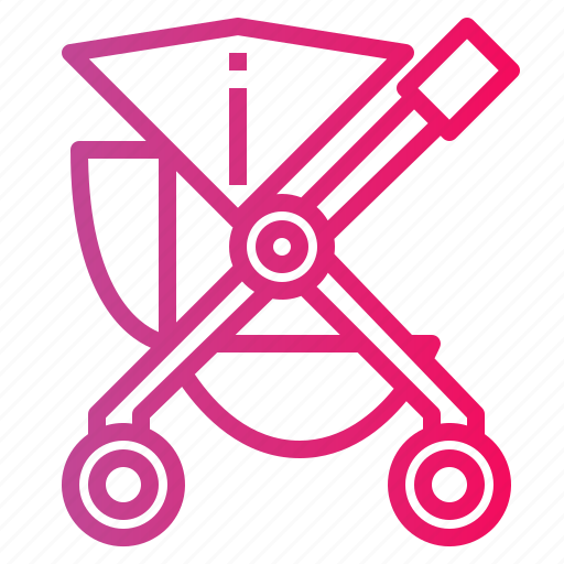 baby, buggy, pushchair, stroller icon
